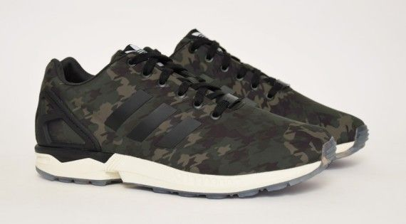 Italia Independent x adidas ZX Flux - Houndstooth Camo