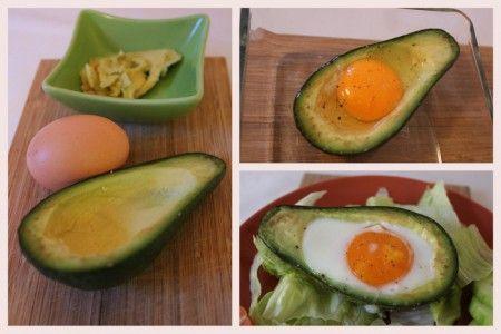 Pečené vejce v avokádu, super snídaně i zajímavý předkrm