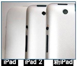 iPad 3 ecco come migliora la fotocamera nel paragone delle tre generazioni.... iPad 3 dovrebbe essdere da 8 MPixel.