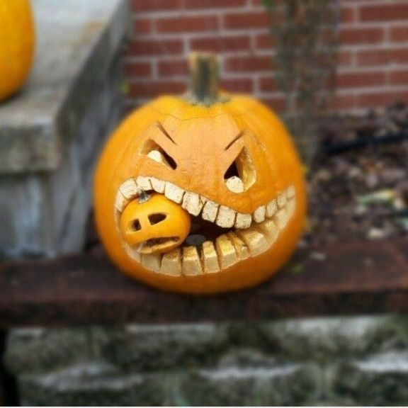 Great pumpkin idea.