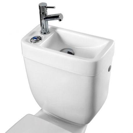 Ce réservoir avec lave-mains intégré vous eprmettra de réaliser de grande économie d'eau