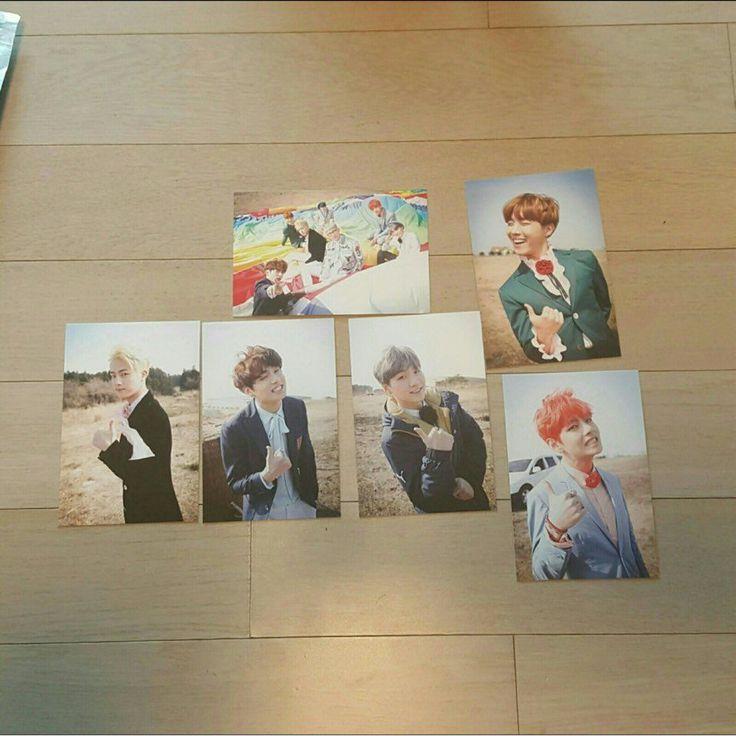 K Pop Star BTS Bangtan Boys Fire Official Fan Meeting Photo Card RARE   eBay