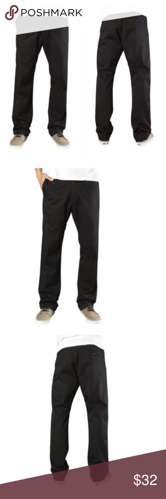 🆕Fox Racing Essex Pants Fox Essex Pants Sport a Clean Look, a Tough-As-Nails Construction and Basic Colorways, Making Them the Perfect Go-To Pants for Your Everyday Needs.  FEATURES  Sits low on the waist with a relaxed fit through the top and thigh Straight leg styling Five pockets with logo button waist and zip fly Fox head embroidery on back 60% polyester/40% twill Fox Pants Chinos & Khakis