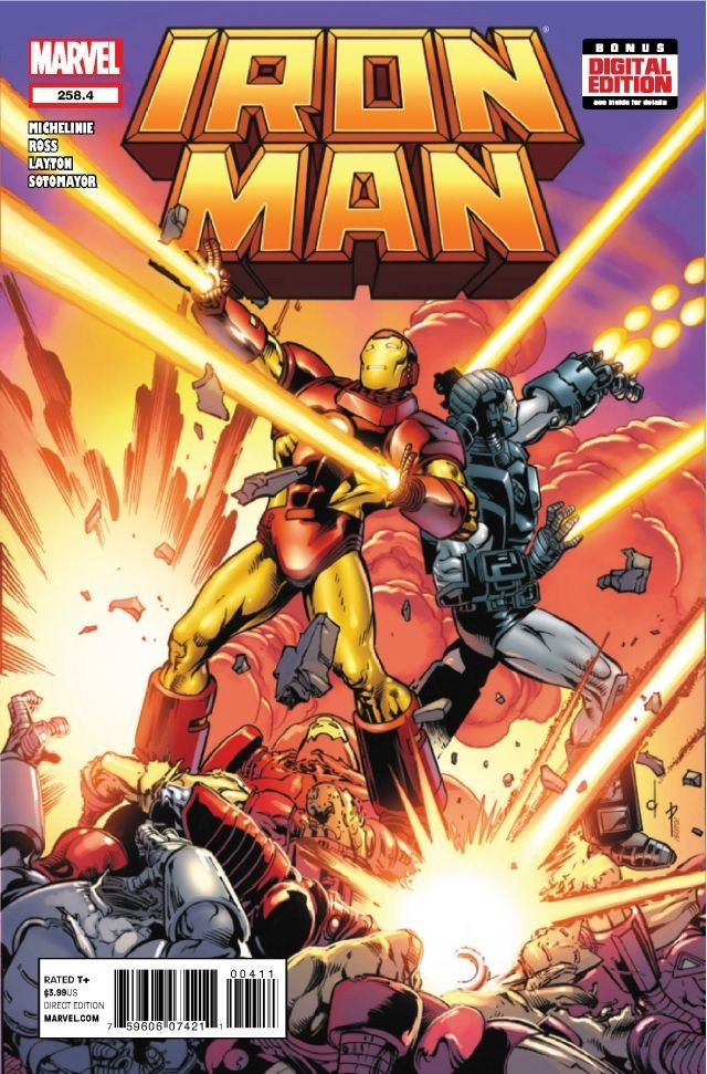 Iron Man #258.4 #Marvel #IronMan (Cover Artist: Dave Ross) On Sale: 5/29/2013