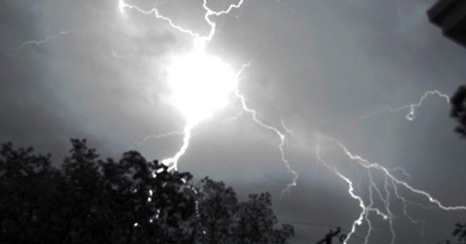 Κεραυνός χτύπησε σπίτι στην Κοζάνη