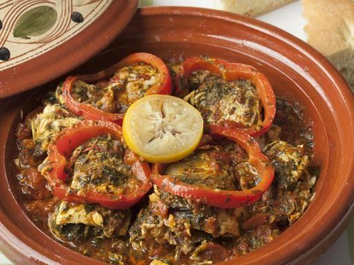 Recette de Tajine de poisson aux légumes