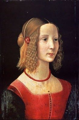 Domenico Ghirlandaio Portraits of  Women in Italian Renaissance Painting #TuscanyAgriturismoGiratola