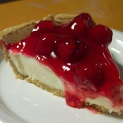 Kersen cheesecake @ allrecipes.nl    niet bakken
