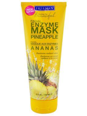 Freeman Feeling Beautiful Facial Enzyme Mask, Pineapple definitely smells like a treat