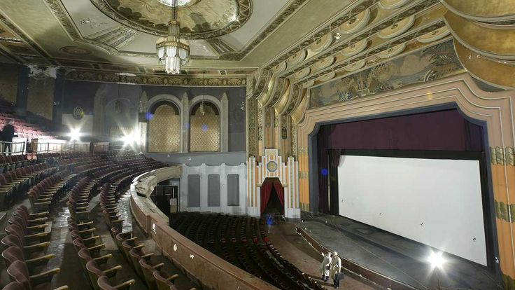 File image of the interior of Philadelphia's Boyd Theatre from 2005. Today, all that remains is the facade of the theater built in 1928.  (AP Photo/George Widman)