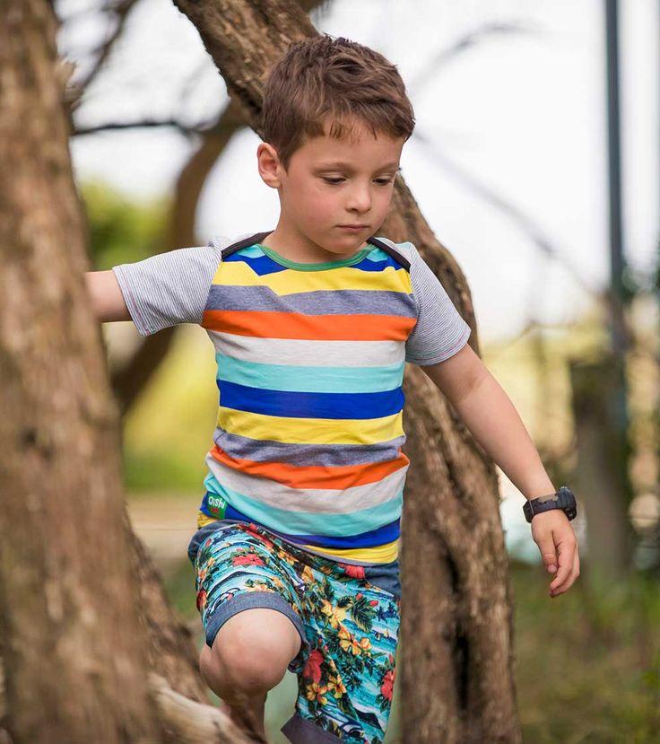 Equator SS T Shirt, Oishi-m Clothing for Kids, Holiday 2017, www.oishi-m.com
