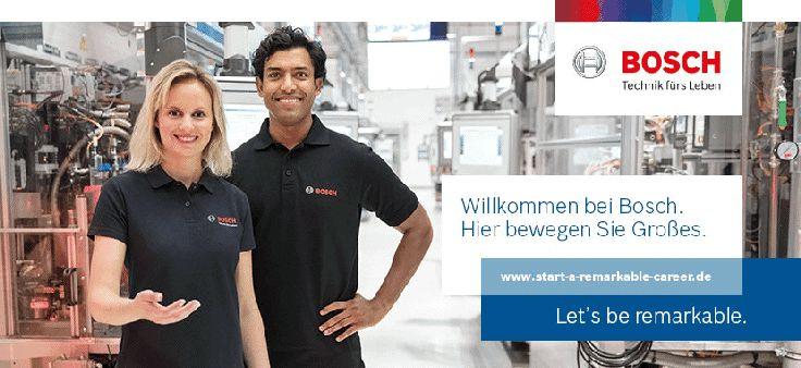 Produktionsmitarbeiter/in befristet - Job bei Robert Bosch GmbH - München in München
