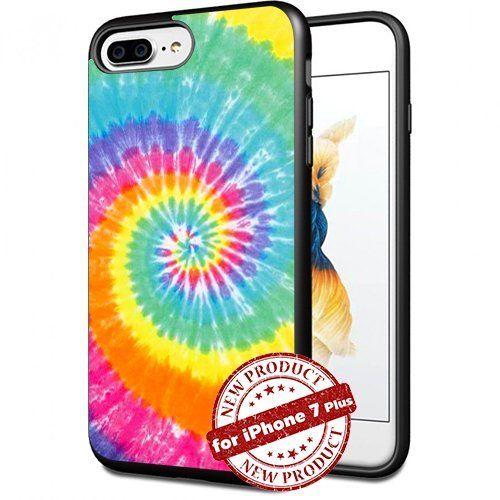 Hippy Tie Die Dye Apple iPhone 7 Plus 7+ Case 5.5 Inch Picture Art Design Cover Slim Rubber Case by SURIYAN, http://www.amazon.com/dp/B01MXMV77Q/ref=cm_sw_r_pi_dp_x_vLtFzbE0PY5DQ