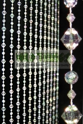 Little gems beaded curtain crystal by shopwildthings - Cortinas colgantes ...