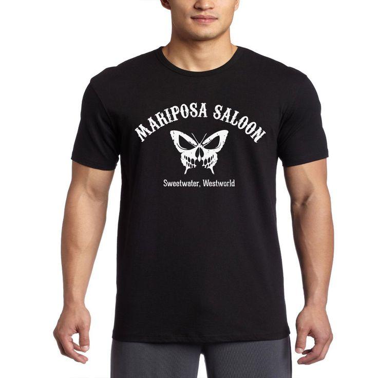 mariposa saloon and sweetwater westworld jk collection Women -Mens T-Shirt S-2XL #Gildan #BasicTee