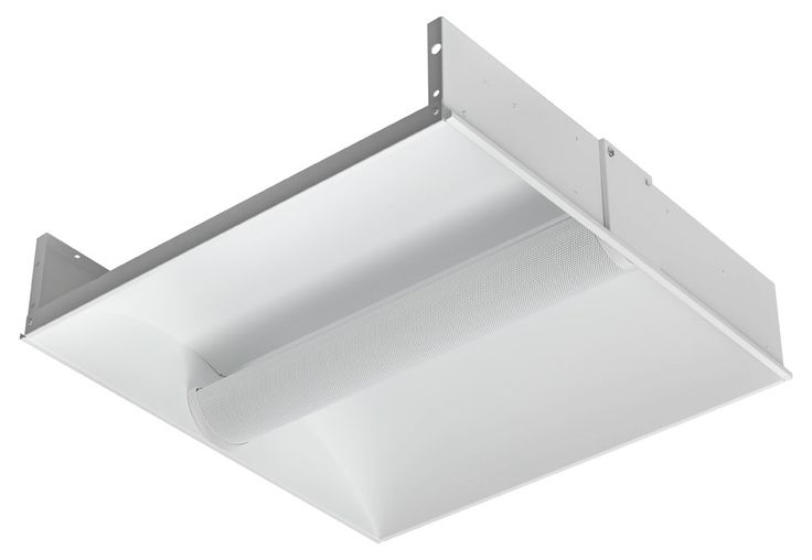 R2 - 2x14W T5 Linear Fluorescent Recessed Troffer, Eagle Lighting Enviro