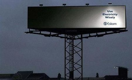 "Eskom Energy Consevation Ad. ""Use energy wisely"""