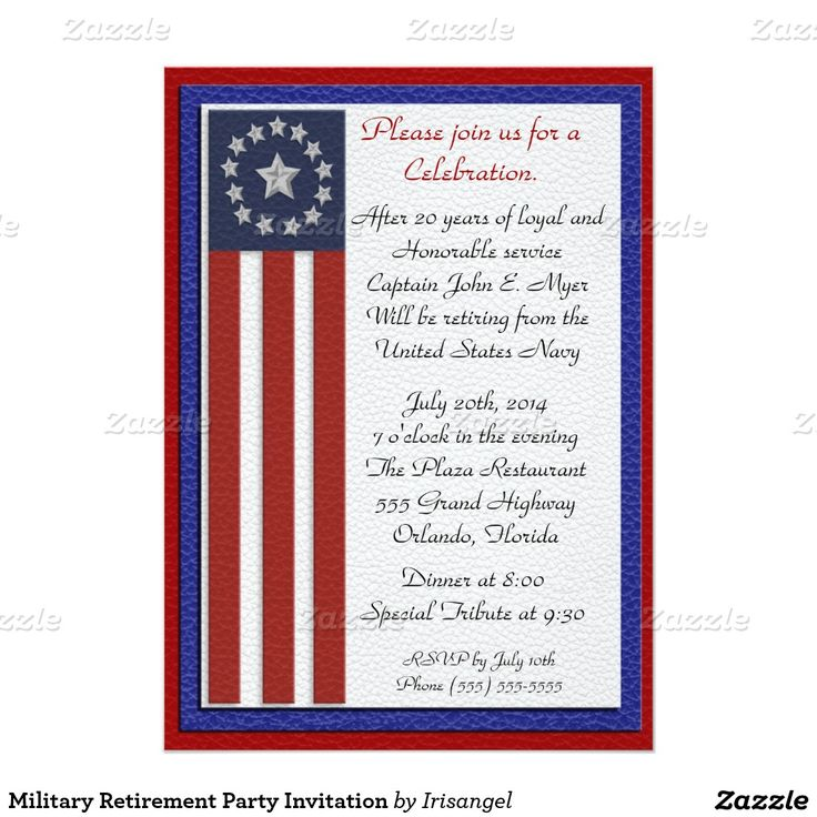 17 best images about military retirement party invitations on pinterest military veterans. Black Bedroom Furniture Sets. Home Design Ideas