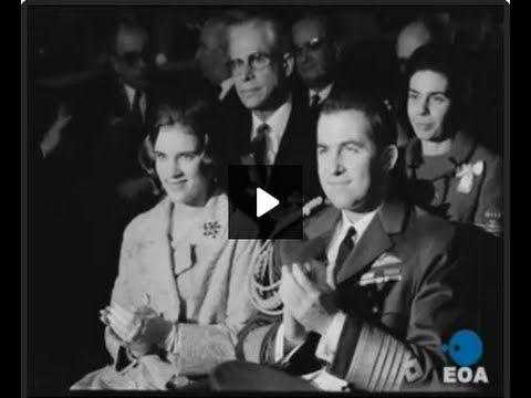 01/01/1966 Επίσημη δοξολογία στη Μητρόπολη Αθηνών για τον εορτασμό του νέου έτους - YouTube