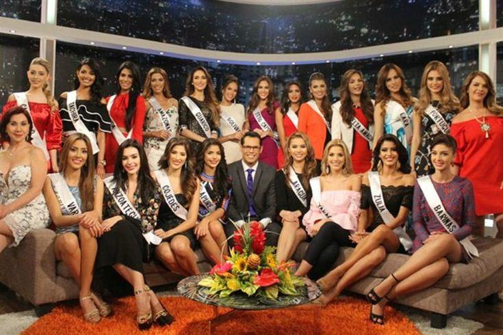 Miss Venezuela 2016 contestants Preliminary Visit