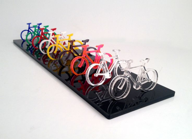 You can make almost anything out of acrylic including baby bikes. The Speedy 300…