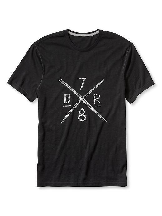 「BR 78」グラフィックTシャツ