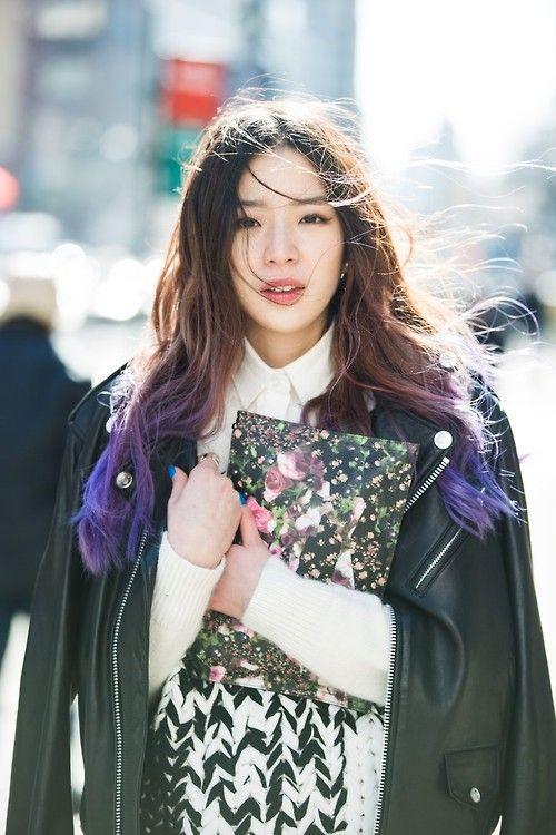 koreanmodel:  Streetstyle: Irene kim in New York shot by Park Ji Min