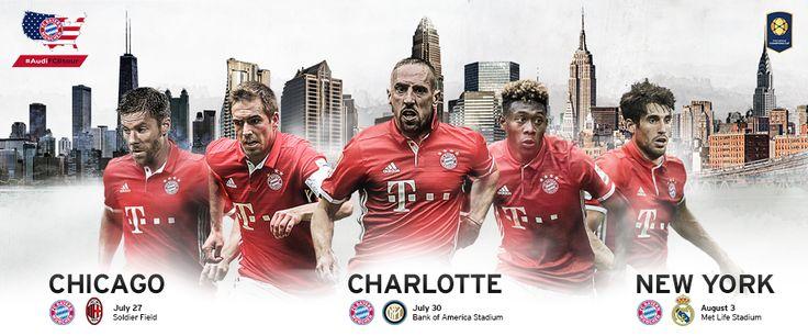 Audi Summer Tour - FC Bayern München AG