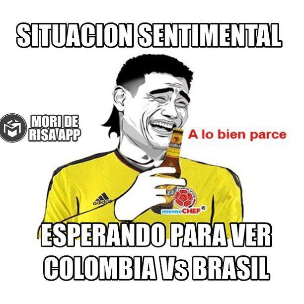 Mi Situación Sentimental #futbol #colombia #chile2015 #meme #sonrie #soltero #feliz #MoriDeRisaApp #colombia #copaamerica #partido #brasil #soccer #unidos #por #un #sueño