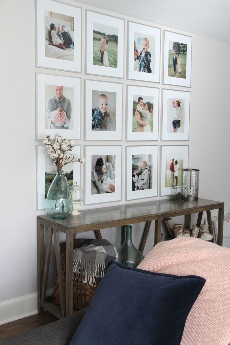 Erstellen einer Galeriewand | Liebling tun – #Wall…