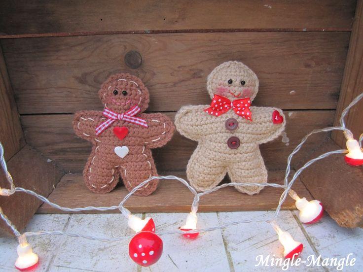 mingle-mangle-crochet: gingerbread man...♥