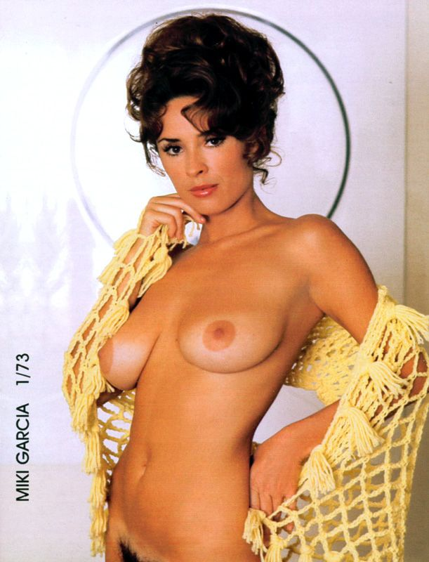 """Miki Garcia, PMOM - January 1973, featured in NSS Facts & Figures, 1997 Fact: She had a """"favorite name"""""""