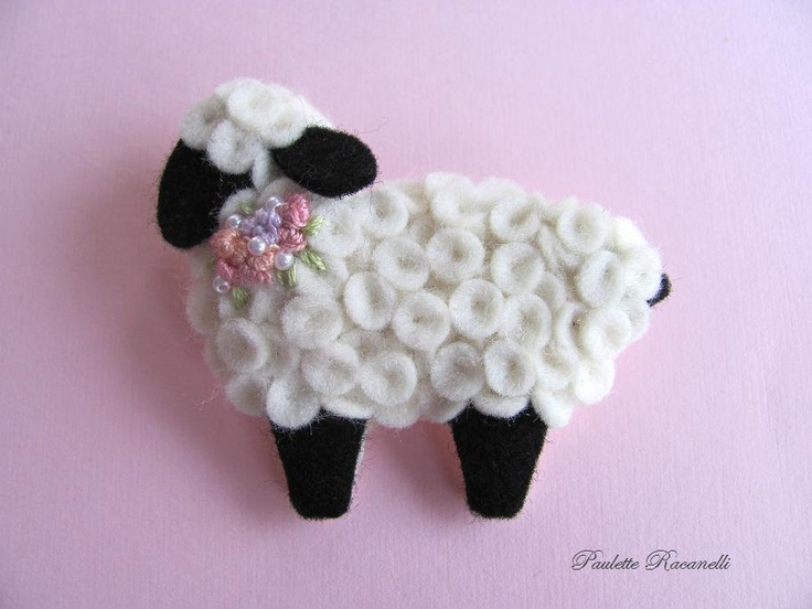 34 best images about christmas ornaments sheep on pinterest for Sheep christmas ornament craft