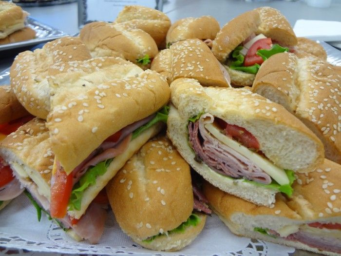 Specialty Sandwiches & Breads - Club Sub or Wrap Catering by Debbi Covington - Beaufort, SC www.cateringbydebbicovington.com 843-525-0350
