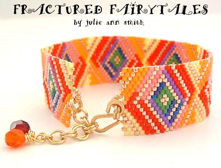 FRACTURED FAIRYTALES Bracelet Pattern | Bead-Patterns