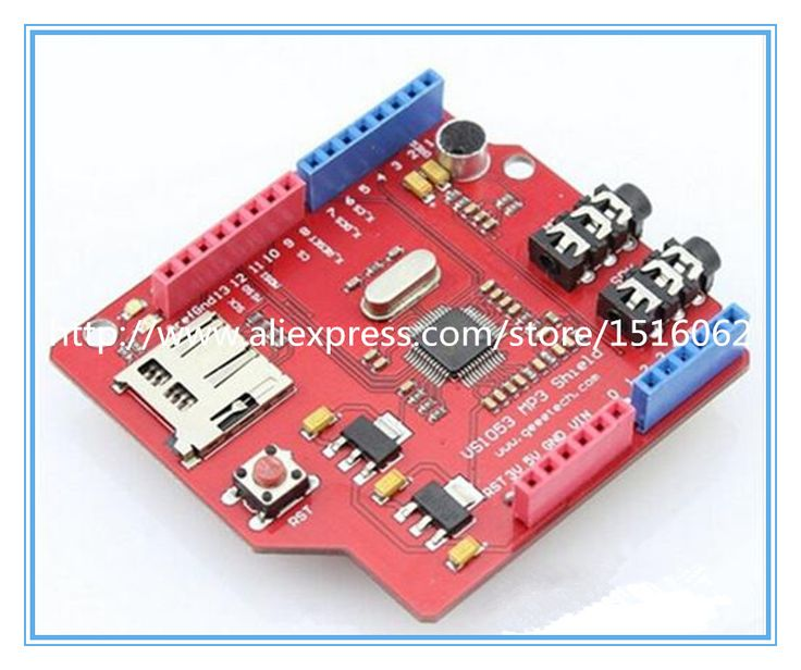 Music MP3 Shield for Arduino USB-SD VS1053 DIY Maker