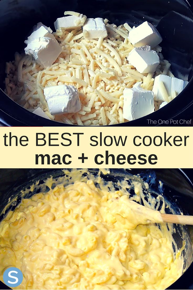 This delicious and easy to make mac and cheese will blow your mind! This is the best slow cooker mac and cheese to make this week. http://www.simplemost.com/how-to-make-amazing-mac-cheese-in-a-slow-cooker/?utm_source=pinterest&utm_medium=referral&utm_campaign=copy