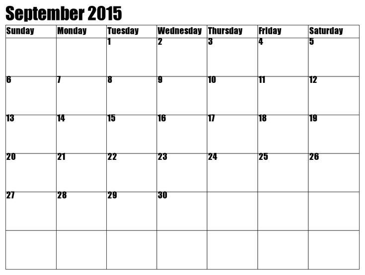 september 2015 calendar and special days for you  downloa