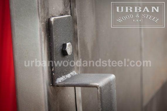 Industrial Steel Fire Door