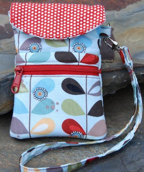 Cell Phone Wristlet Sewing ePattern PDF