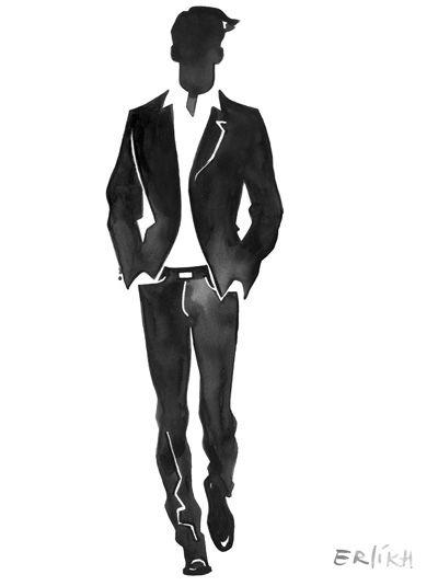 Barbara Laurie Photographers Eduard Erlikh - Fashion Illustration #KappAhl #Men #StoreDecor