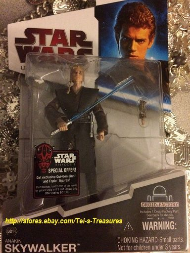Star Wars Legacy Collection BD14 Anakin Skywalker