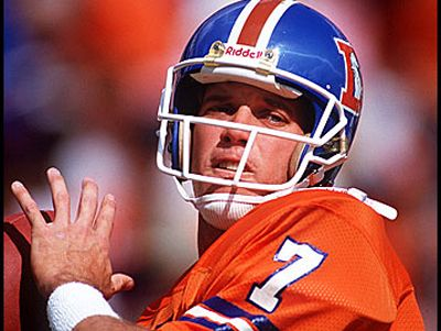 John Elway - Go Broncos! one of the best 2 min. drills in Football....ever