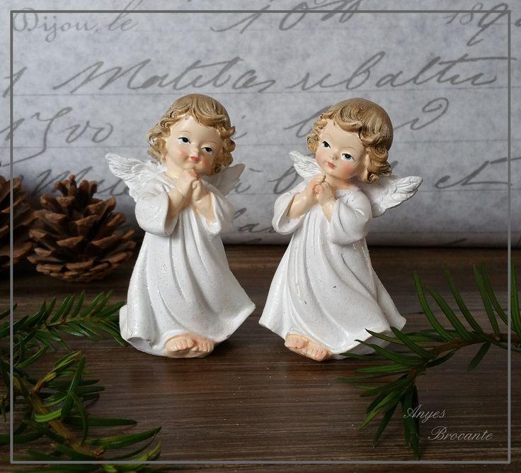 Kerst engelen ♥ www.anyes-brocante.nl