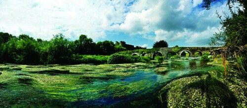 Мост Глануэрт, графство Корк. Ирландия