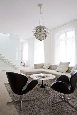 126 best minimalist design images on pinterest home. Black Bedroom Furniture Sets. Home Design Ideas