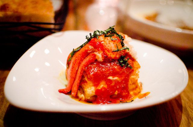 Lobster Lasagna at Louro by ettible. #NewYorkCity #dining #restaurants
