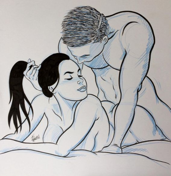 pachu ilustraciones mujeres sexys