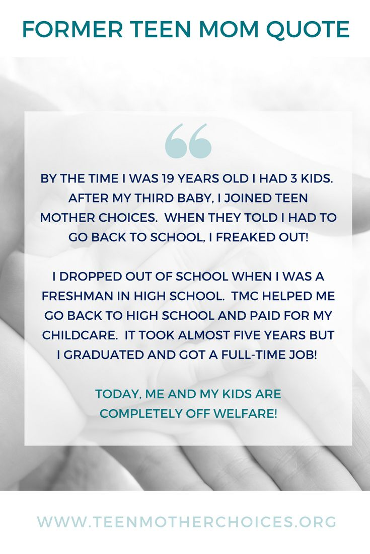 TUESDAY'S TEEN MOM QUOTE- If we want to help break cycles, we must offer a solution for the teen moms, so they can complete their education and work full-time.  TMC programs help with the cost of childcare or transportation to make it happen. #tmci #tmc #breakingcycles #teenmoms #completelyoffwelfare #EquippingEmpoweringImpacting #makingadifference