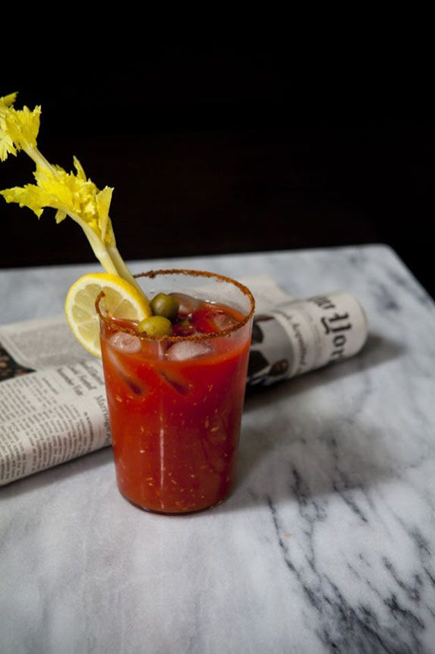 The Best Bloody Mary Recipe Ever.....I just made this recipe and it is ...